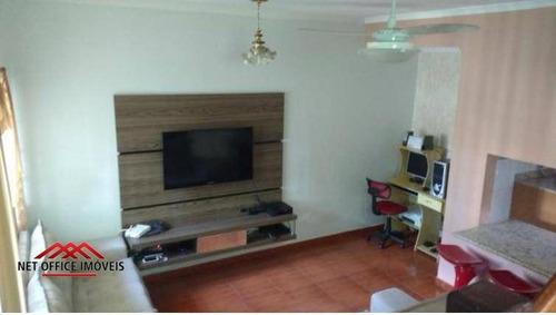 Casa Com 3 Dormitórios À Venda, 105 M² Por R$ 500.000,00 - Jardim América - São José Dos Campos/sp - Ca0118