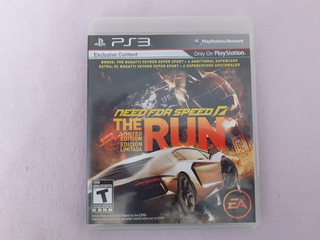 Need For Speed The Run Original Para Ps3