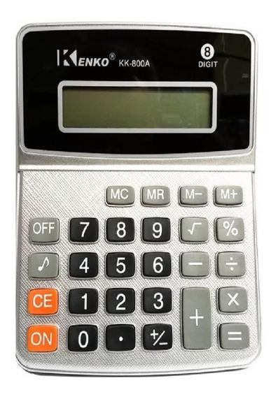 Calculadora Kenko De Mesa Kk-900a Display 8 Digitos