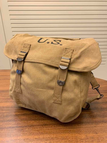 Musset Bag Ww2 Mochila Americana Airbone Feb Segunda Guerra