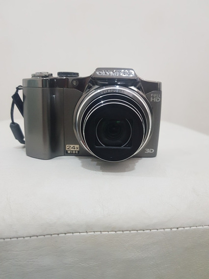 Câmera Olympus Sz-30mr Prata
