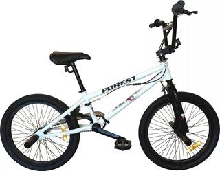 Bicicleta Forest Bmx Freestyle Rodado 20 - 48 Rayos Envios