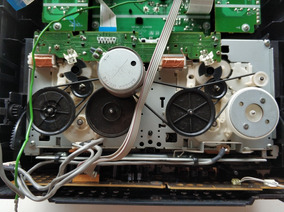 Sony Fst-zx80d Tape Deck (toca Fitas)