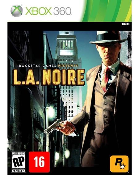 Jogo Midia Fisica La L.a. Noire Da Rockstar Para Xbox 360