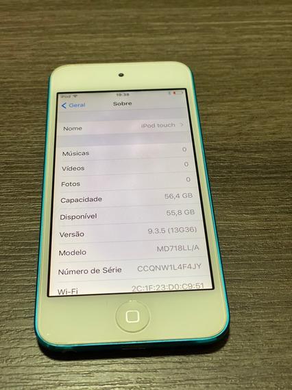 iPod Touch 64gb Azul - Ótimo Estado