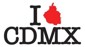 Playera I Love Cdmx - Envío Gratis
