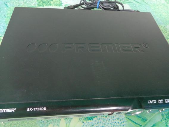 Reproductor Dvd Player Premier, Video/mp3...micrófonos Opc.