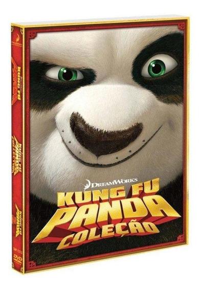 Box - Kung Fu Panda Coleção 1 E 2