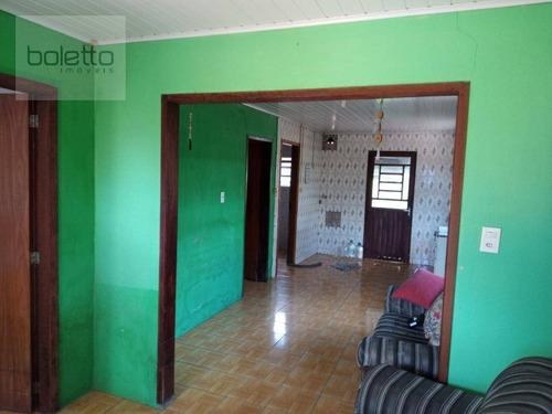 Boletto Imóveis Vende Terreno Com 363m², 2 Casas Em Cachoeirinha - Ca0249