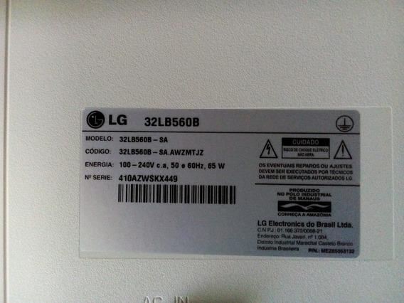 Placa Principal Da Tv Lg 32lb560b