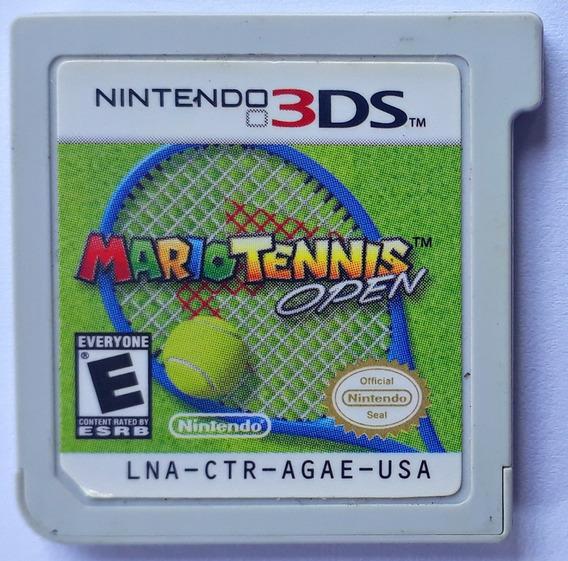 Jogo Mario Tennis Open Nintendo 3ds Original Cartucho Loose