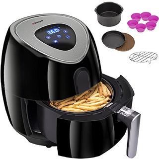 Euhomy Air Fryer 42qt 1500w Viene Con Recetas Y Cookbook Y 6