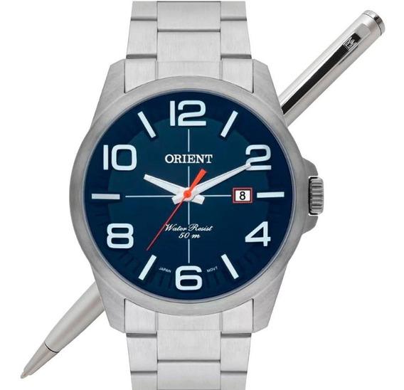 Relógio Orient Masculino Mbss1289 D2sx Analógico - C/ Nfe