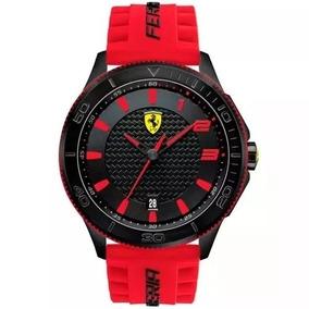 Relógio Ferrari Scuderia Vermelho Original 830136