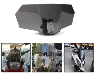 Aumento Extension Parabrisas Moto Universal Deflector Aire