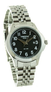 Reloj Tressa Mujer Acero Sumergible,calendario, Original
