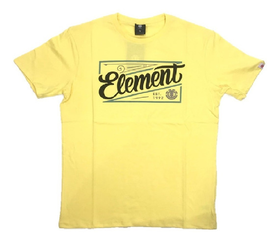 Remera Element Hombre Lager Tee 21107005 Cam