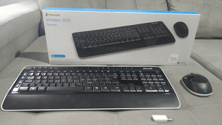 Teclado E Mouse Microsoft Wireless Desktop 3000