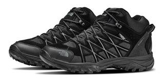Zapatillas Botas Cuero Senderismo Impermeable The North Face