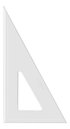 Imagem 1 de 1 de Esquadro Acrimet 540.3 De 30 X 60 Graus Com 26 Cm Sem Escala