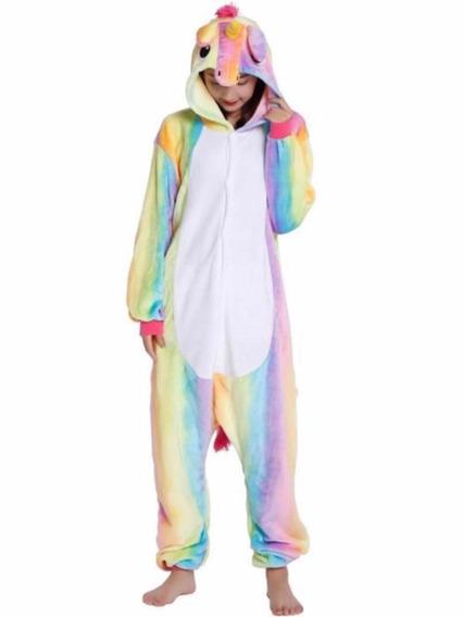 Pijama Unicornio Plush ( Talle M 1.60- 1.70 ) Alt)