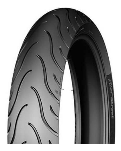 Pneu De Moto Michelin 80/100-14 Pilot Street 49l Traseiro