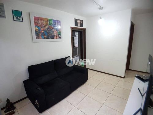 Apartamento À Venda, 52 M² Por R$ 148.000,00 - Canudos - Novo Hamburgo/rs - Ap2730