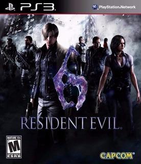 Resident Evil 6 - Edicion Con Todos Los Dlc ~ Ps3 Digital