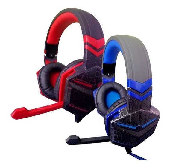 Fone Ouvido Gamer Headset Fr-511 Gaming Microfone Usb
