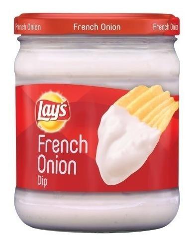 Salsa Lays French Onion Dip 425 Gramos