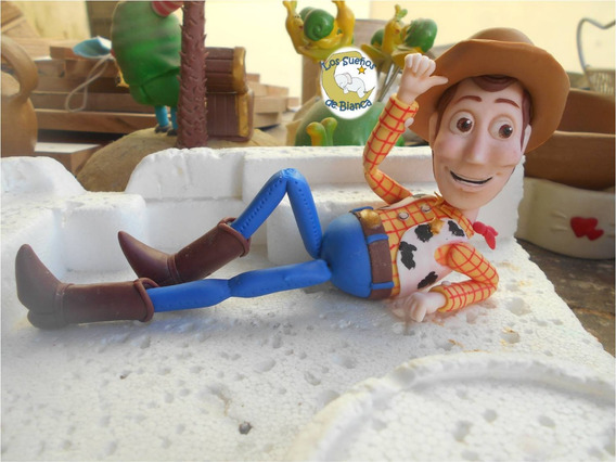Toy Story Woody - Porcelana Fria