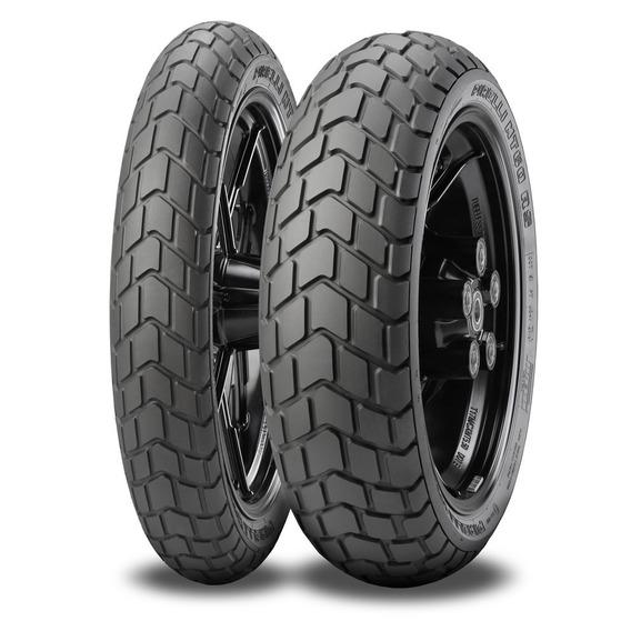 Kit Par Pneu 180/55-17 + 110/80-18 Pirelli Mt60rs
