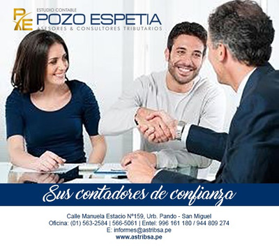 Contador Publico Colegiado-el Mejor Servicio Contable Delima