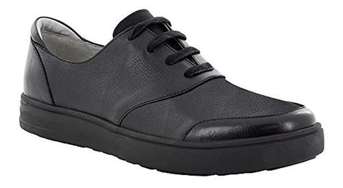 Zapato Flexer Alegria Hombre Negro Caido