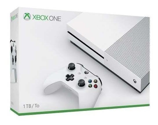 Xbox One S 1tb Original + Jogo Brinde - Novo Lacrado C/ Nf
