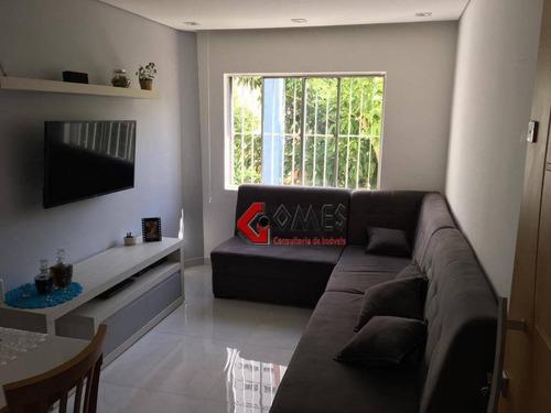 Apartamento Com 2 Dormitórios À Venda, 71 M² Por R$ 310.000,00 - Vila Euclides - São Bernardo Do Campo/sp - Ap1940