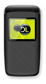 Celular Flip Dl Yc330 2chip Câmera Fm Bateria Longa Nf Novo