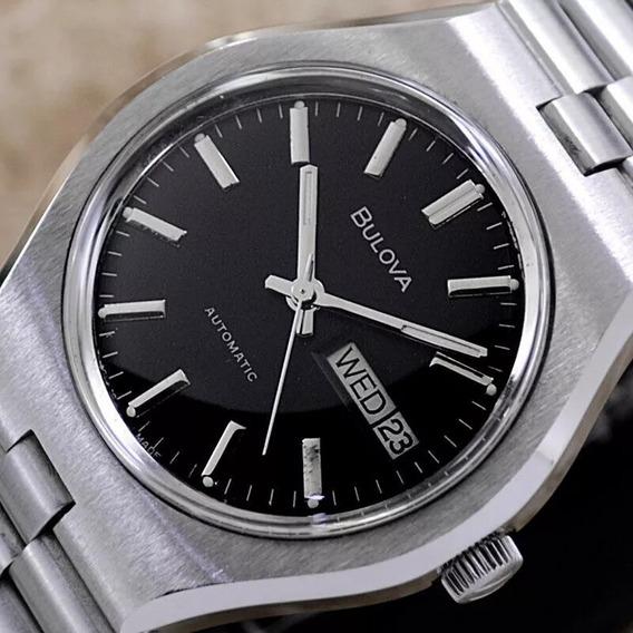 Relógio Bulova Swiss Automático Ótimo
