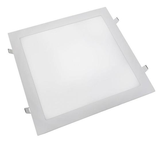 Luminaria Plafon Led 40x40 36w Embutir Classe A Super Fino