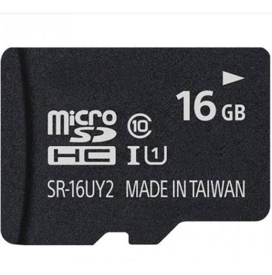 Cartão Micro Sd De Memória 16gb Celular Câmera Taiwan
