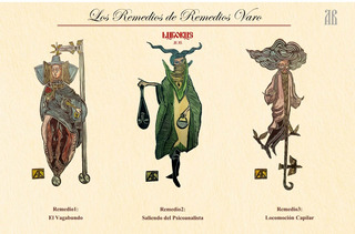 Serie De Grabados Linoleo Personajes De Remedios Varo