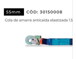Cola De Amarre 1.5 Mts Con Amortig.y Mosq De 55mm . X-urban