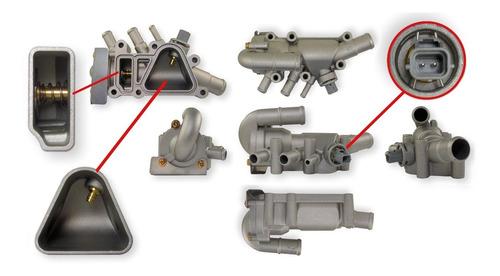 Imagen 1 de 2 de Carcaza Termostato Ford Ka 2008-2014 1.0 1.6 Aluminio Comple