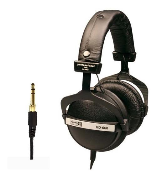 Superlux - Fone Hd660 P/ Monitoração Profissional