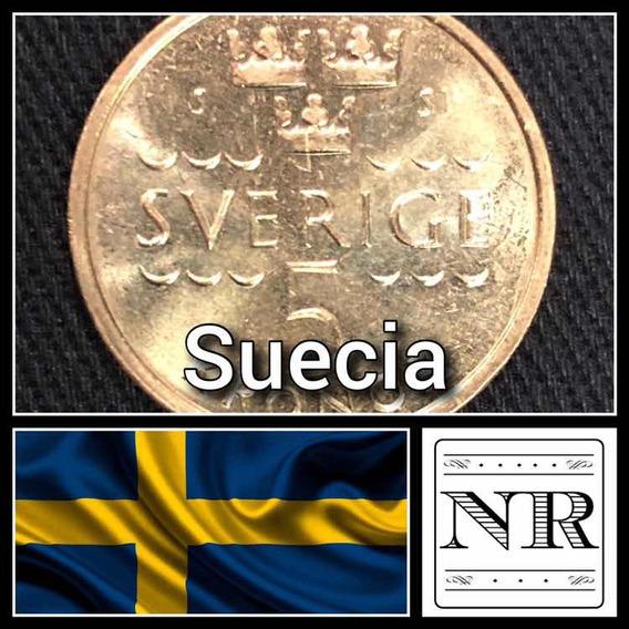 Suecia - 5 Coronas - Año 2016 - Km # 930