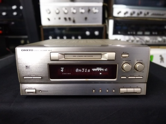 Md Player Onkyo Md A7 Minidisk Ñ Marantz Sony Jvc Pioneer