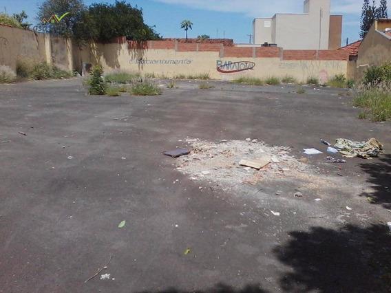 Terreno Para Alugar, 600 M² Por R$ 500,00/mês - Vila Paraíso - Mogi Guaçu/sp - Te0045