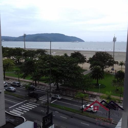 Imagem 1 de 15 de Apartamento 2 Dormitórios - Gonzaga - Santos - Vista Mar - 1650