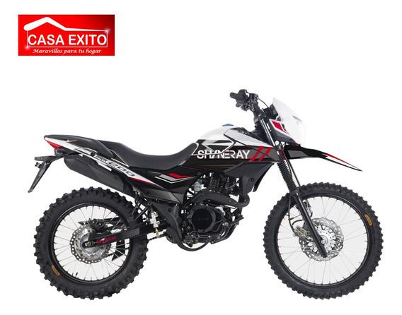Moto Shineray Xy200gy-6e Thor 200cc Año 2020 Color Ro/ Ne