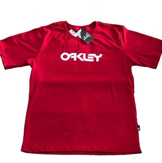Camisa Oakley Algodão Masculina